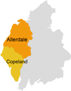 Allerdale and Copeland